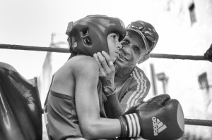 boxing,champion,amateur,teenager,young,boy,coach,fight!,black and white,b+w,0451-147-Edit